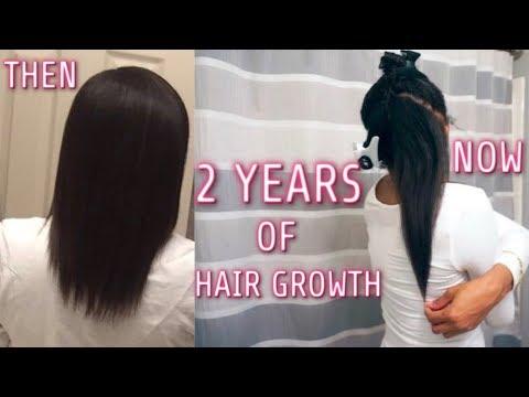 2 Years Of Hair Growth   Jazzie Jae T