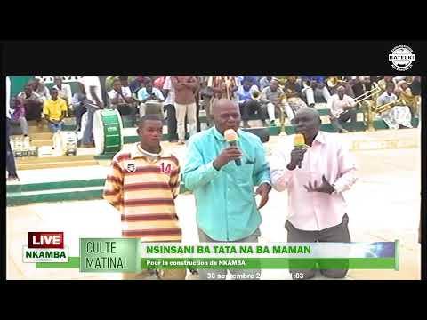 Live Culte Matinal à NKAMBA du 30 septembre 2020
