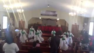 "Ruach Dance Ministry - ""Holding On To My Faith"" Praise Dance"