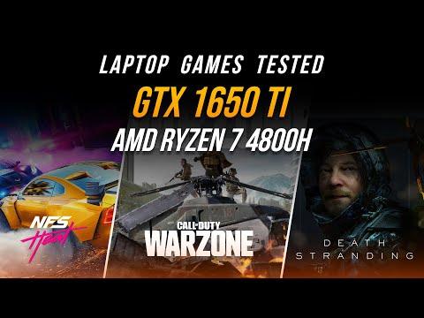 [Gaming Test] ทดสอบเล่นเกม AMD Ryzen7 4800H + GTX 1650 Ti | Ram 16 GB บน Notebook รุ่นยอดนิยม