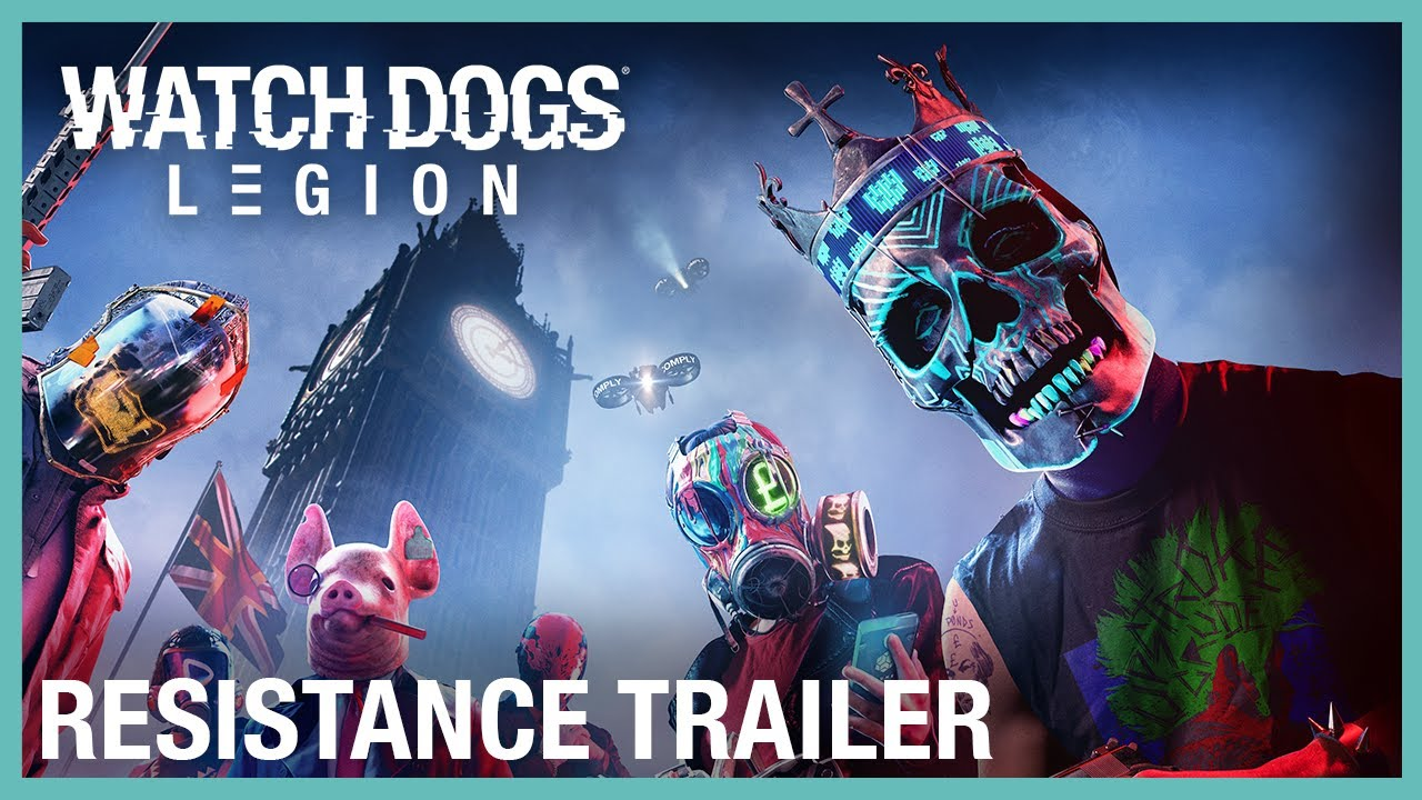 Watch Dogs: Legion: Resistance Trailer | Ubisoft