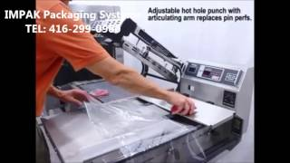 Heat Seal Stainless Steel Semi Automatic L Bar Sealer HDS320 Shrink Wrapping Meat