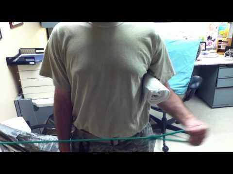 Archery Bow Arm Shoulder Pain Exercises