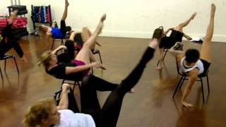 """My Love is for Real"" by Paula Abdul-Inner Diva Chair Tease-Choreography by Danyelle Eddy"