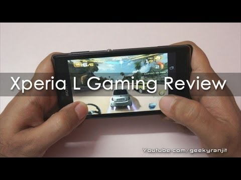 Sony Xperia L Gaming Review & Benchmarks