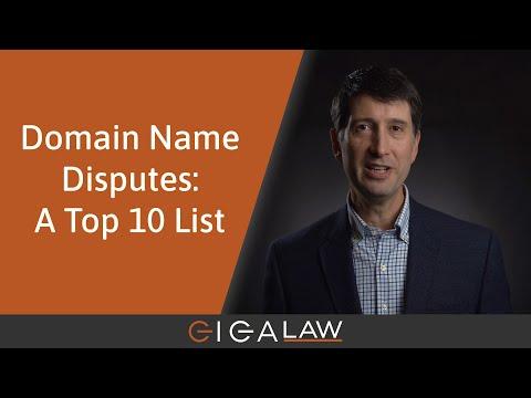 Domain Dispute Masterclass (#14): A Top 10 List