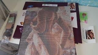 Алмазная вышивка на подрамнике. 40 на 50 см. Заказано НЕ в Китае, а на сайте my-art.com.ua