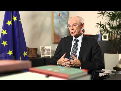 Herman Van Rompuy explains: representing the EU on the international stage
