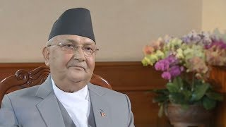 Dialogue with Nepali Prime Minister K. P. Oli
