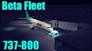 ROBLOX Beta fleet 737-800 flight (working)