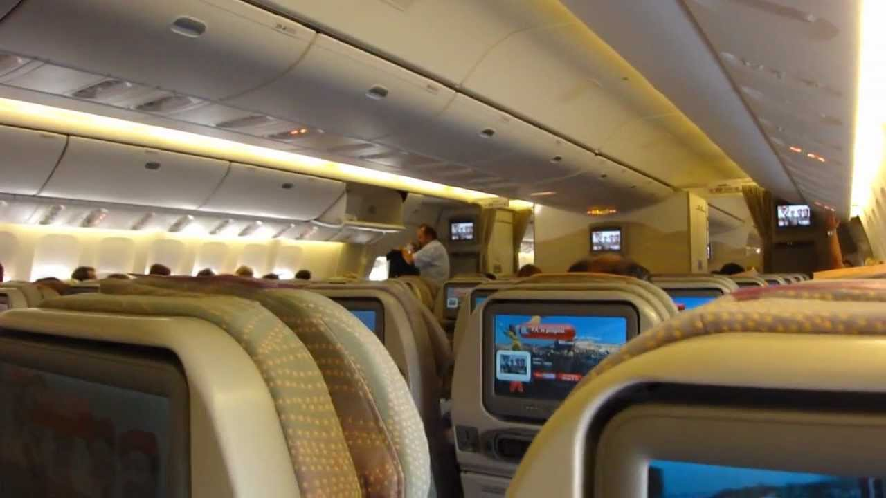 Emirates It Home Dxb Zrh Boeing 777 300er Youtube