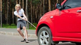 видео Буксировка автомобиля с АКПП: секреты аварийной транспортировки