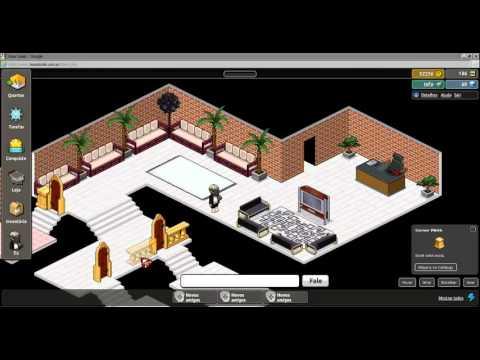 Habbo hoax como fazer uma casa youtube for Como hacer casa moderna habbo