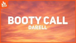 Darell - Booty Call (Letra)