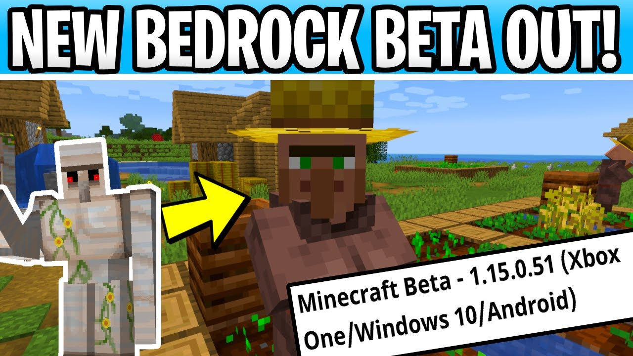 Minecraft Bedrock Beta 1 15 0 51 Parity Changes Nether Update Snapshot Coming Later Youtube