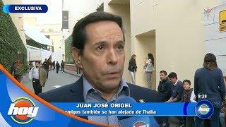 Juan José Origel asegura que su amistad con Thalía termin�...