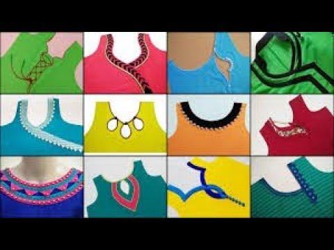 Most popular churidar neck designs//Beautiful churidar neck designs