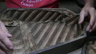 274 RSW 1890s Parlor Guitar Coffin Case Restoration