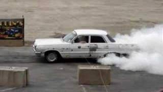 1964 Chevy Bel Air Burnout