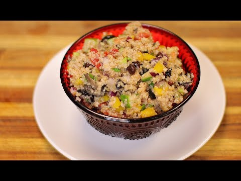 Bulgur Salad – homemade vegan recipes – healthy recipe channel – summer recipe – vegan meal prep