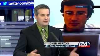 i24 News   Israel Telecom Merger with Chen Herzog, BDO   11 10 2015 - חן הרצוג