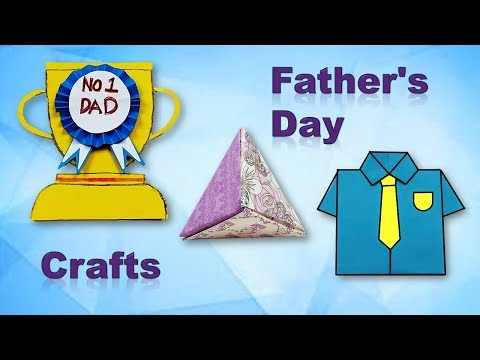 DIY Father's Day Gift Ideas - handmade cards and box - COCO Art&Craft