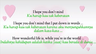 Elton John - Your Song - Lyrics ( Terjemahan Indonesia )