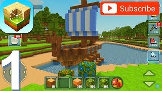 World Building Craft - Gameplay Walkthrough Part 1 (Android, iOS Gameplay)