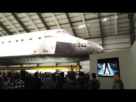 4k space shuttle endeavour exhibition california - 4k space shuttle ...