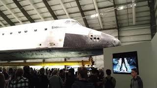 4K - Space Shuttle Endeavour Exhibition - California Science Center