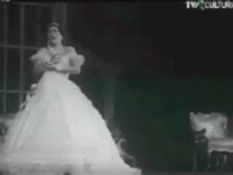 Virginia Zeani - Live Staged Versions of Traviata (1965), Aida (1970), Tosca (1980)
