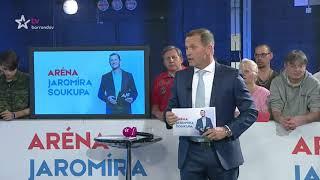 I. Bartoš, P. Pávek, A. Udženija, L. Luzar, K. Valachová a J. Kobza / Aréna J. Soukupa (17.4.2018)