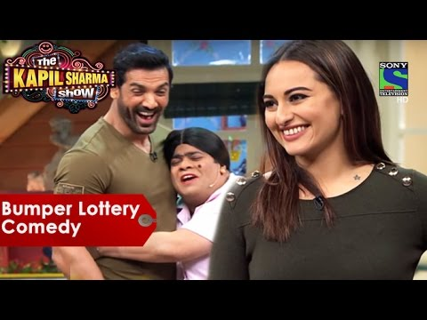 Bumper Lottery Comedy - Sonakshi Sinha And John Abraham Special - The Kapil Sharma Show
