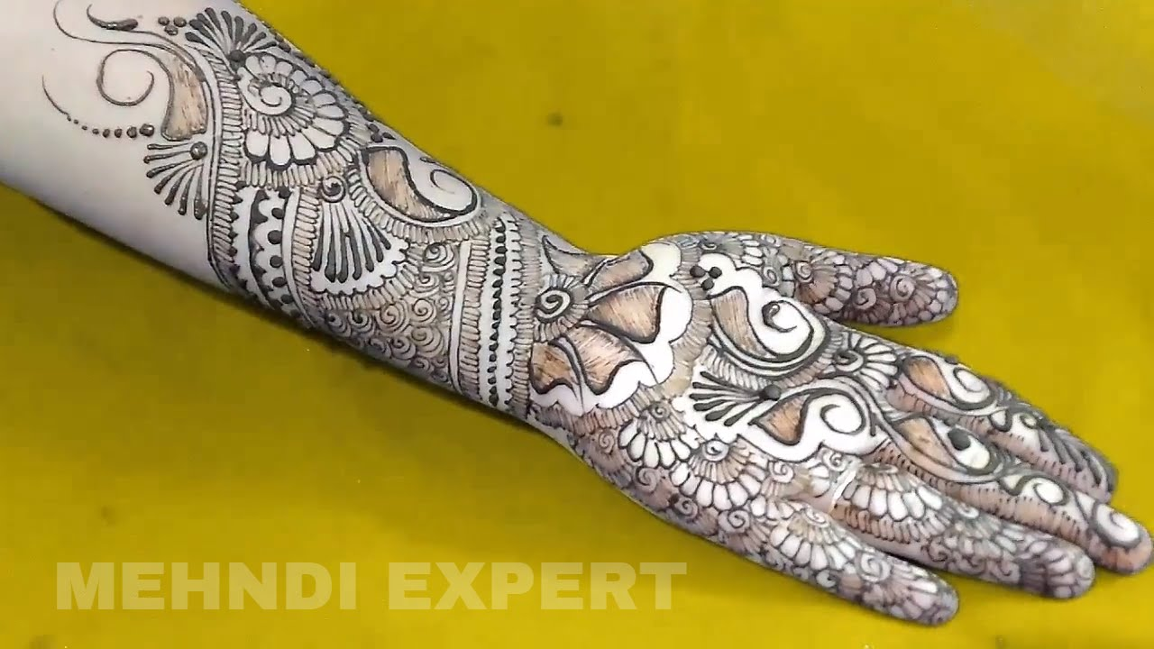 Mehndi Designs Learning Hands : Modern style full hand mehndi design for all occasion ☆ step by