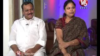T Cong leader Gandra Venkata Ramana Reddy & Jyothi in Life Mates | V6 News