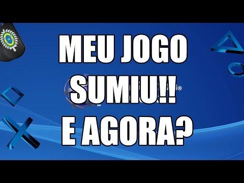 MEU JOGO SUMIU DO PS4, E AGORA?