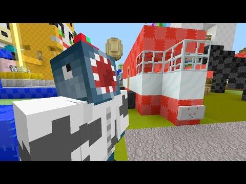 Minecraft Xbox - Quest For Squid's Ferrari (173)