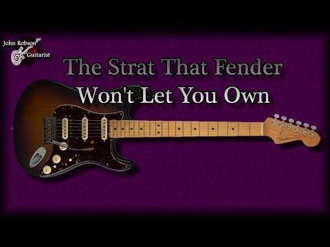 The Strat That Fender Won't Let You Own