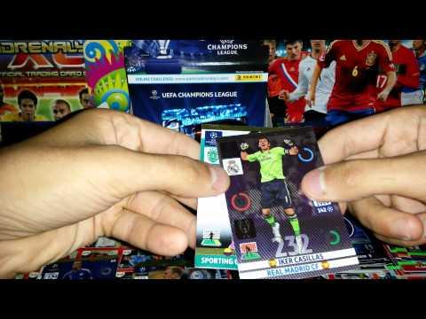 KARTY PIŁKARSKIE ADRENALYN XL BOX PANINI CHAMPIONS LEAGUE 2014/2015 OD LA DECIMAC. #10
