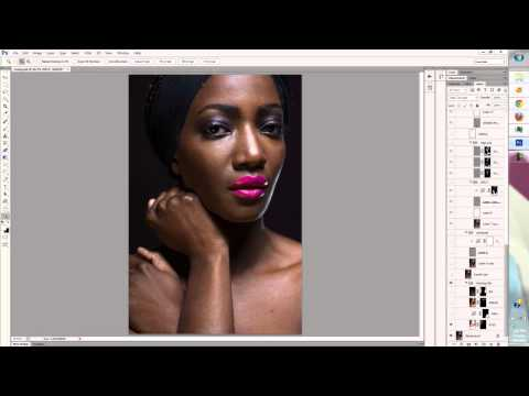 High end retouching  2013 walkthrough