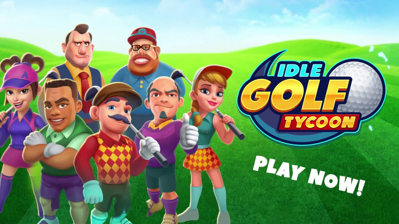 Idle Golf Tycoon - Game Trailer