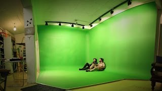 screen chroma key diy paint background backgrounds build studios digital screens greenscreen dulux rosco which window