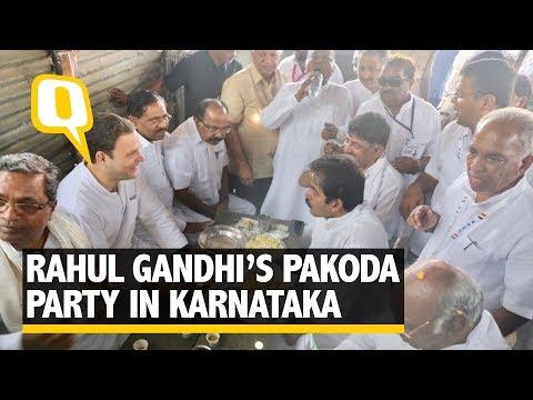 Congress President Rahul Gandhi Throws His Own Chai-Pakoda Party | The Quint