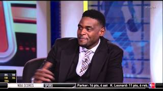 Chris Webber Imitates Avery Johnson, EJ Does Shaq