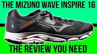 Mizuno Wave Inspire 16 Running Shoe Review - an ultra runner's perspective