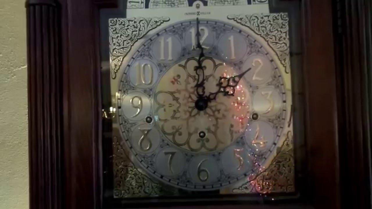 howard miller beckett grandfather clock westminster chime