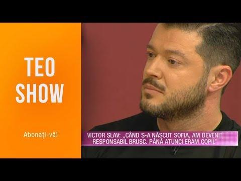 "Teo Show (20.05.) - Victor Slav: ""Eu Si Bianca Nu Avem Nimic Mai Mult De Impartit Decat Pe Sofia"""