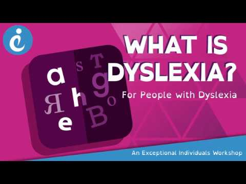 Exceptional Individuals: What is Dyslexia - So What is Dyslexia?