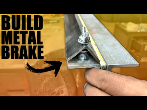 How to Make a Homemade Sheet Metal Brake