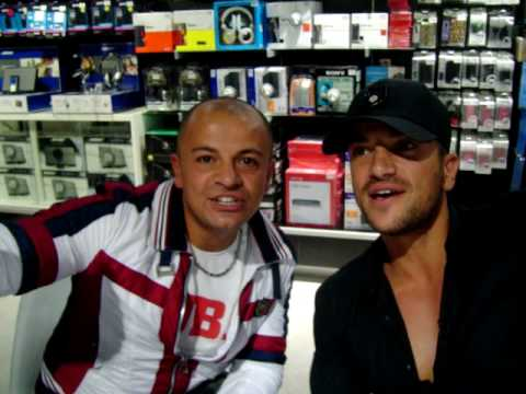 peter andre loves the usuals
